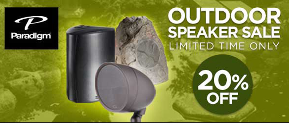 Paradigm Outdoor Speaker Sale
